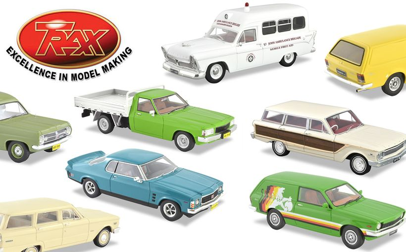 TRAX Model Car Reviews: Winter 2020