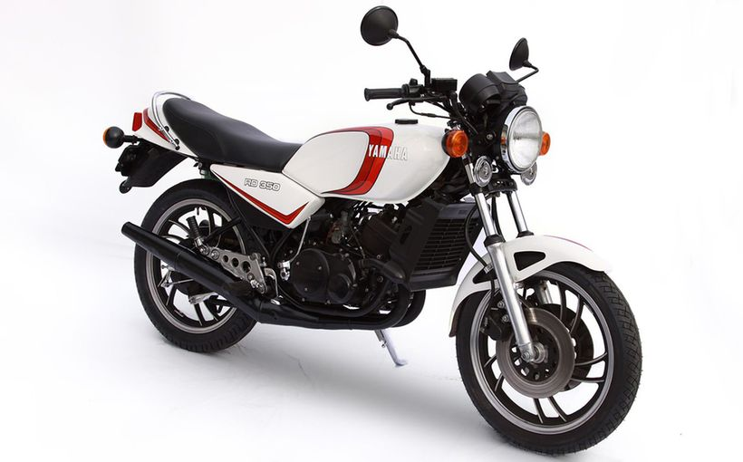 1980 Yamaha RD350LC: Race Developed