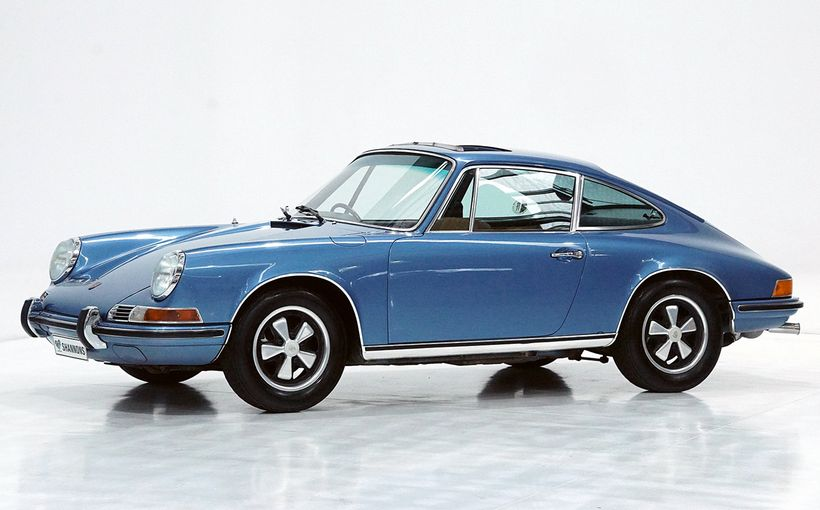 Stunning Porsche 911E from 99 year-old owner