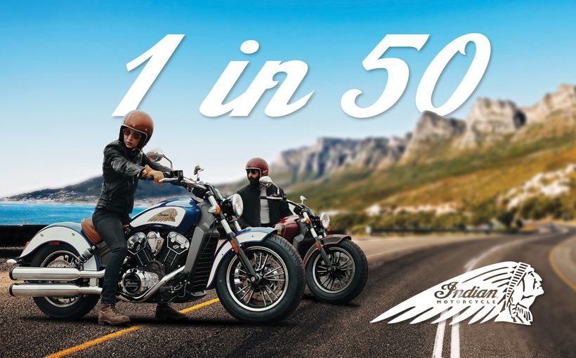 1 in 50 Chance to Win Your Bike - Now that's bloody good odds!