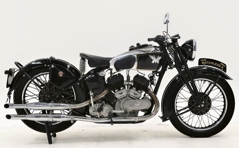 Collectors Eye Rare Classic Bikes in Shannons Timed Online Auction