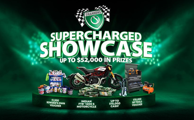 Win a Supercharged Showcase