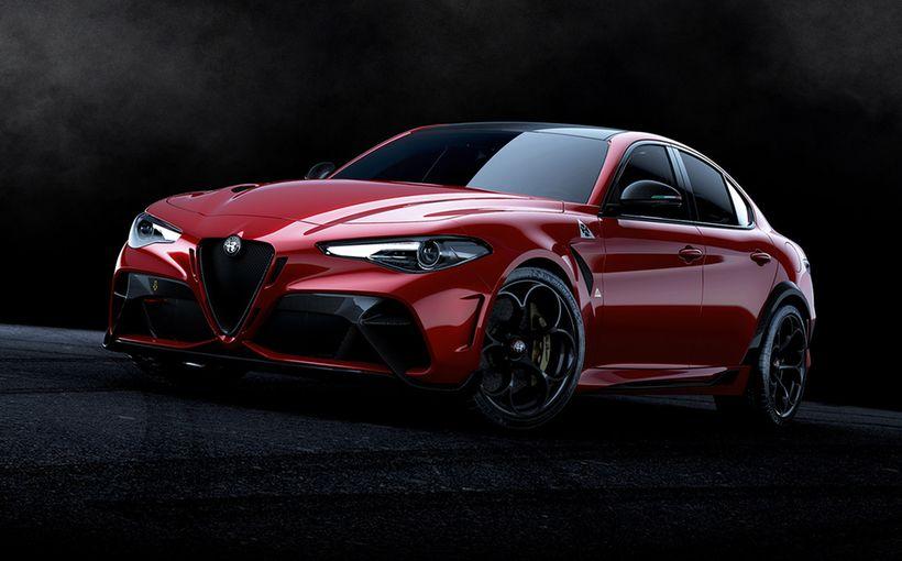 Alfa Romeo unveils sizzling Giulia GTA