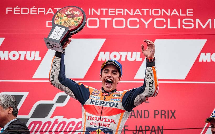 Marc Marquez Destroys the Field in Japan to Take Another Win!