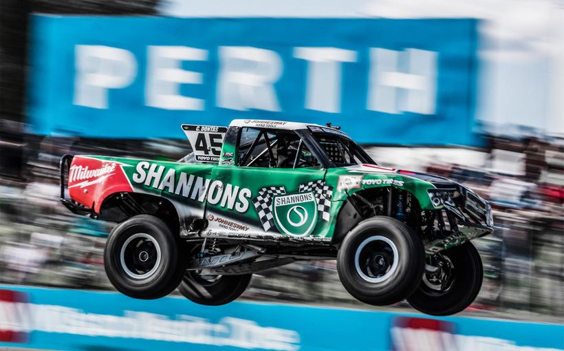 Dontas Races against a Rocky Weekend in Perth