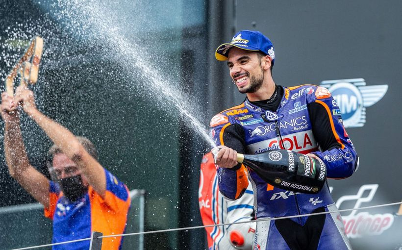 Wild Ride: Miguel Oliveira Wins his First MotoGP Race as Jack Miller & Pol Espargaro Battle.