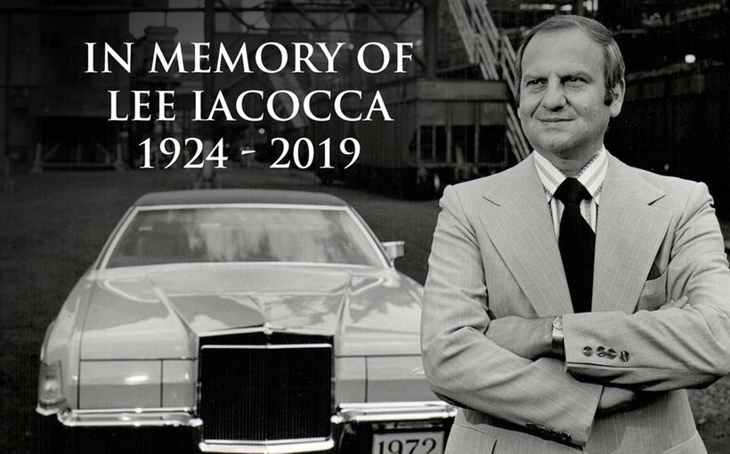 Automotive Industry Legend Lee Iacocca, has passed away at age 94