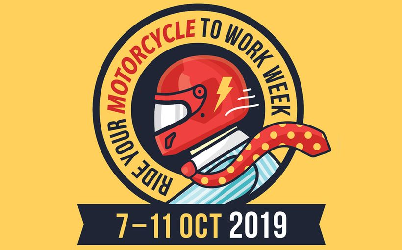 Ride Your Motorcycle to Work Week 2019
