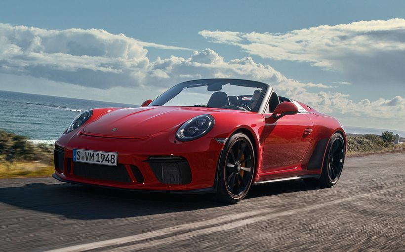 991-series swansong revealed with Porsche 911 Speedster