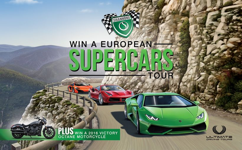 Your Chance to Drive the World's Best Supercars in Europe