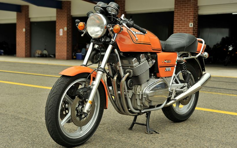 Laverda Jota: The Triple Dance…