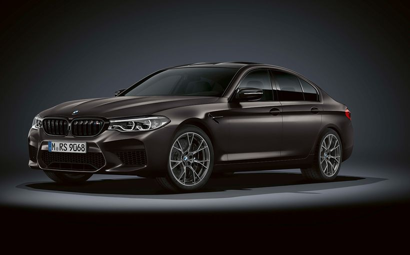BMW Celebrates M5 Ruby Jubilee with 35 Years Edition