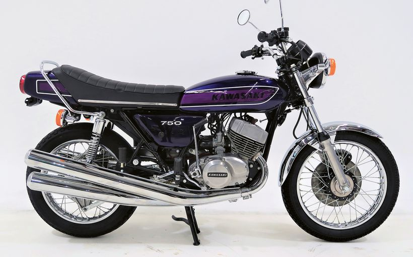 Rare Japanese sports bikes for discerning collectors