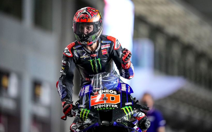 Fabulous Fabio Wins Qatar Race Two With Rookie Jorge Martin and teammate Johann Zarco bagging the podium positions!