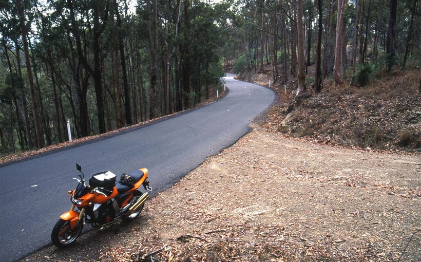 Queensland: Mount Glorious Road - Corner(ing) Country