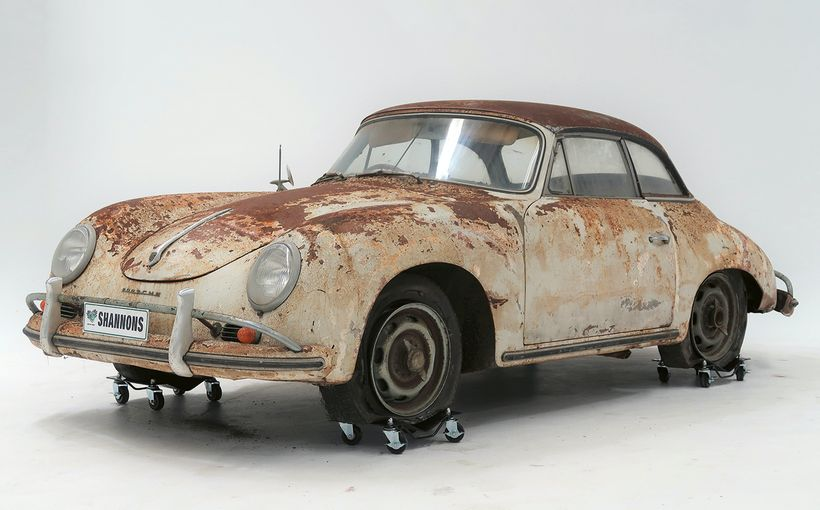 Project' Porsche 356A Cabriolet to Tempt Enthusiasts
