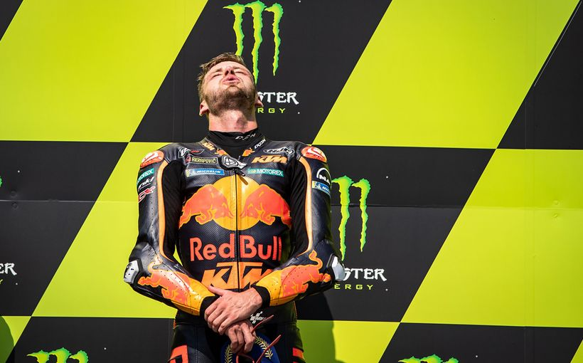 Brad Binder Wins KTM's First Ever MotoGP Race At The 2020 Monster Energy Grand Prix České Republiky