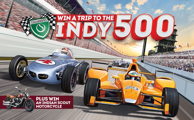 Win a Trip to the Indy 500! Plus, an Indian Scout Motorcycle
