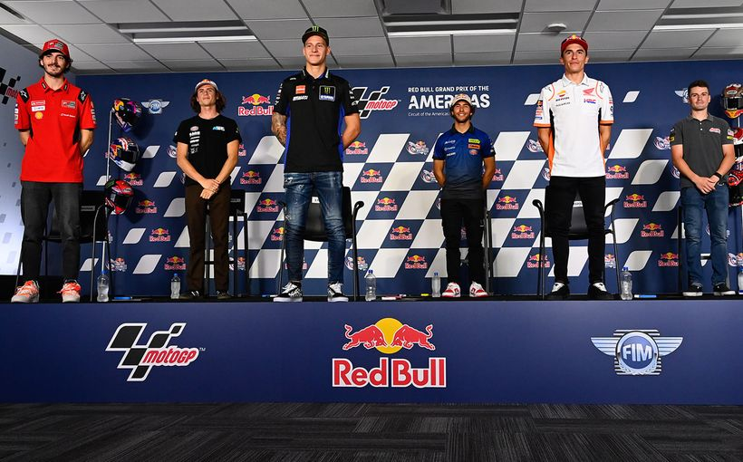 Austin, Texas: Time For The MotoGP Bucking Bulls To Get Underway!
