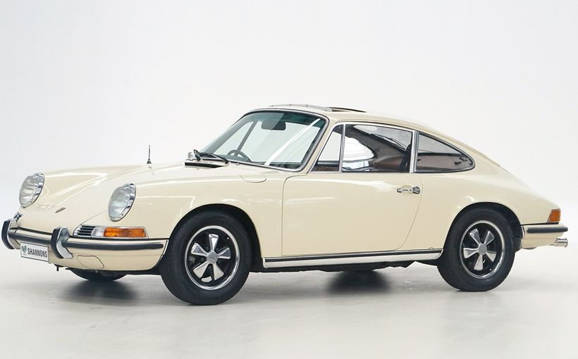 Shannons celebrate Porsche's '70th' with seven classic models