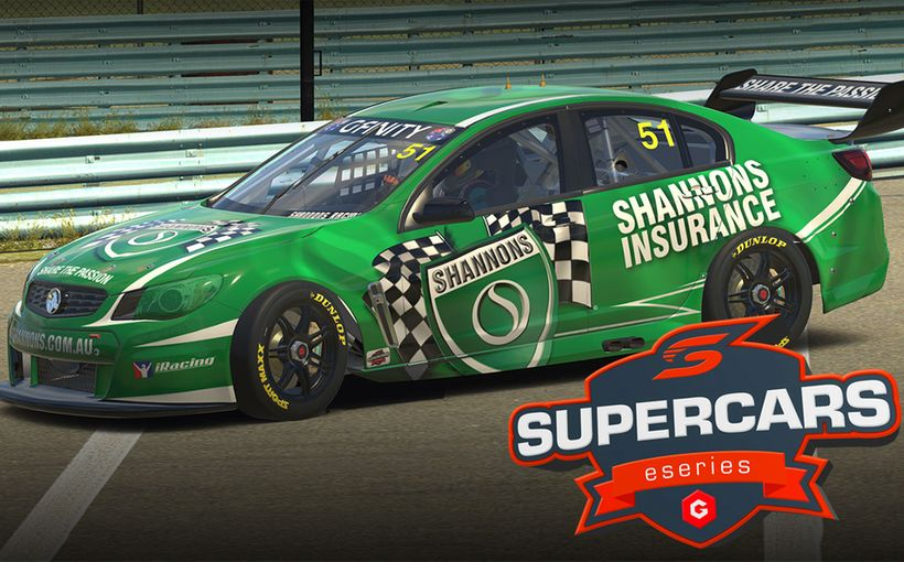 Shannons Takes on Major Sponsorship of Gfinity Supercars Eseries