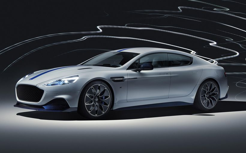 Electrification comes to Aston Martin with Rapide E