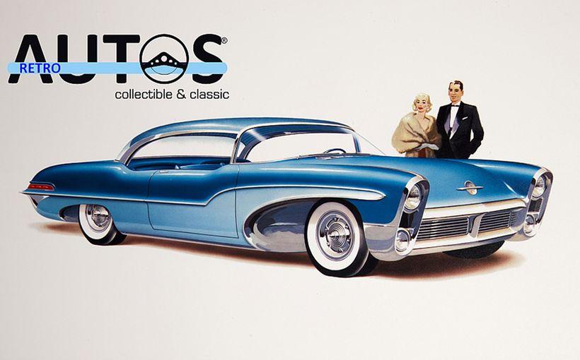 Retroautos August 2019 - Exclusive!! Previously secret photos of GM's 1955 Motorama dream cars in development