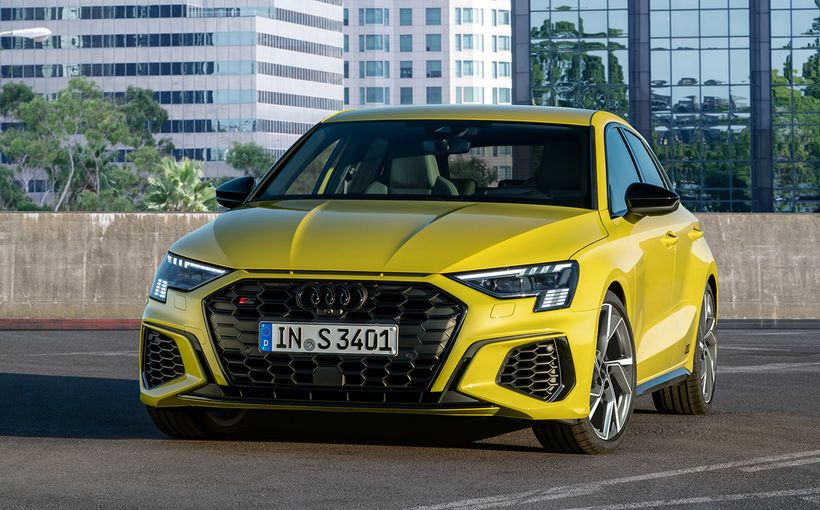 Don't want the hardcore Audi RS3? The more relaxed but still hot S3 is also inbound