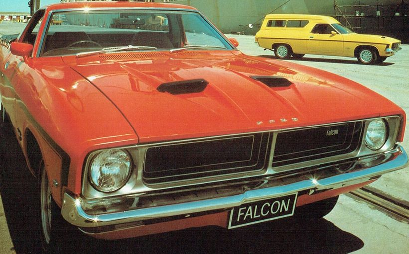 Falcon Utes and Vans: homegrown heroes built tough for Australia