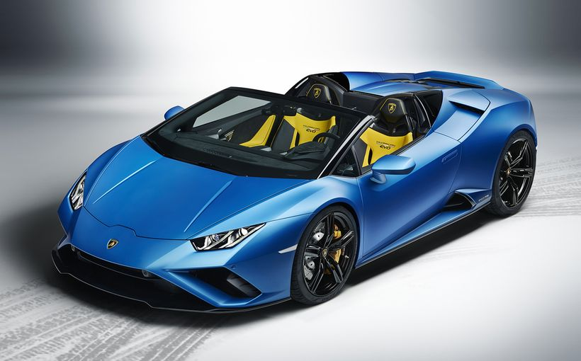 Lamborghini raises bar for open-roof motoring with Huracan Evo RWD Spyder
