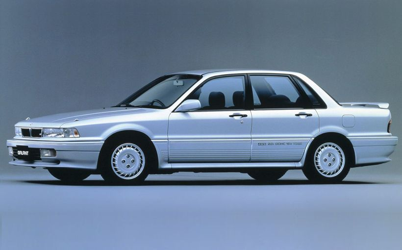 Mitsubishi Galant VR-4: charming and original Japanese super sedan