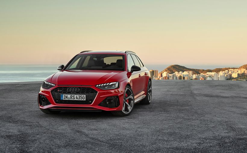 Audi gives mid-life nip/tuck to its potent and practical RS4 and RS5 twins