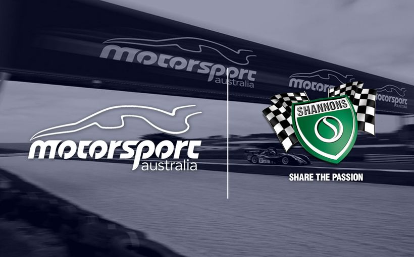 Shannons and Motorsport Australia Extend Partnership