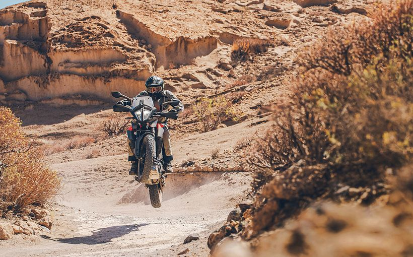 2020 KTM 390 Adventure: Globetrotter