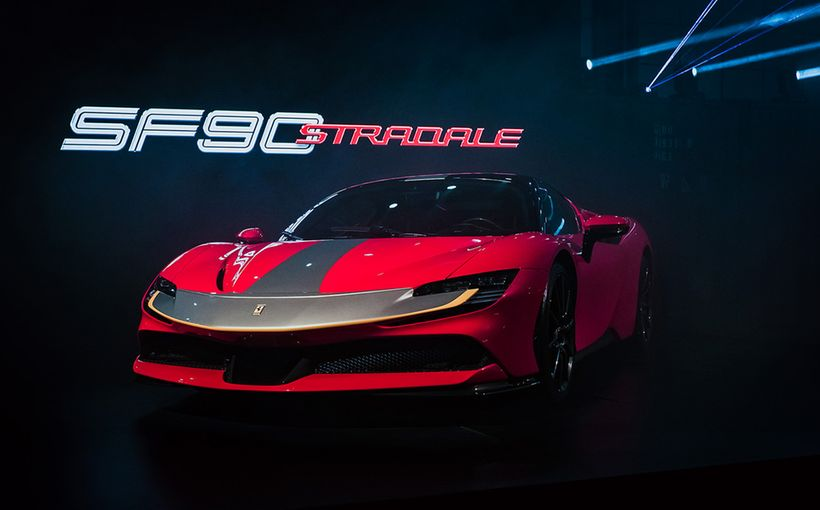Ferrari takes performance to next level with insane SF90 Stradale PHEV