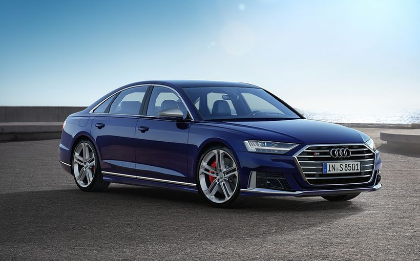 Audi's movie-star S8 reborn with V8 hybrid oomph