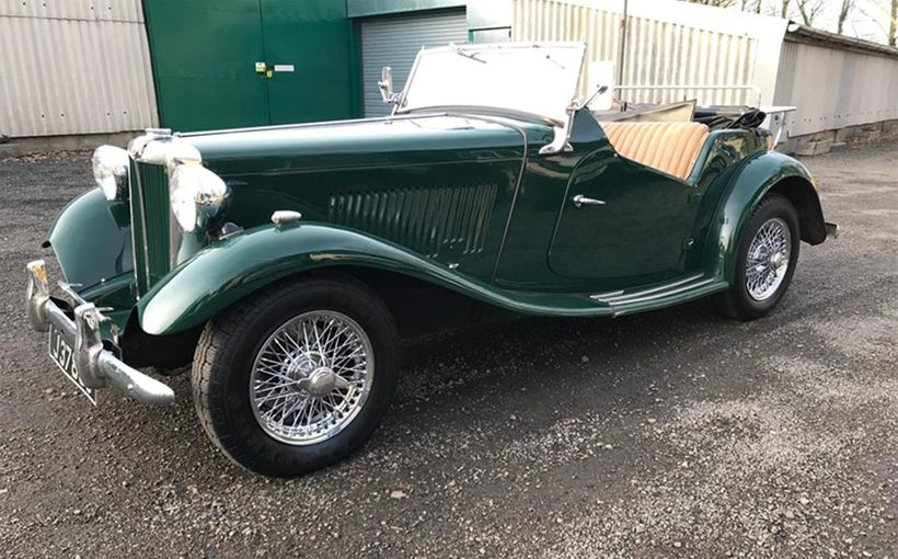 MG TC, TD and TF Midgets: small British sports cars to a 'T'