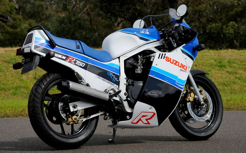 1985 Suzuki GSX-R750F: REVOLUTIONARY, Part 1
