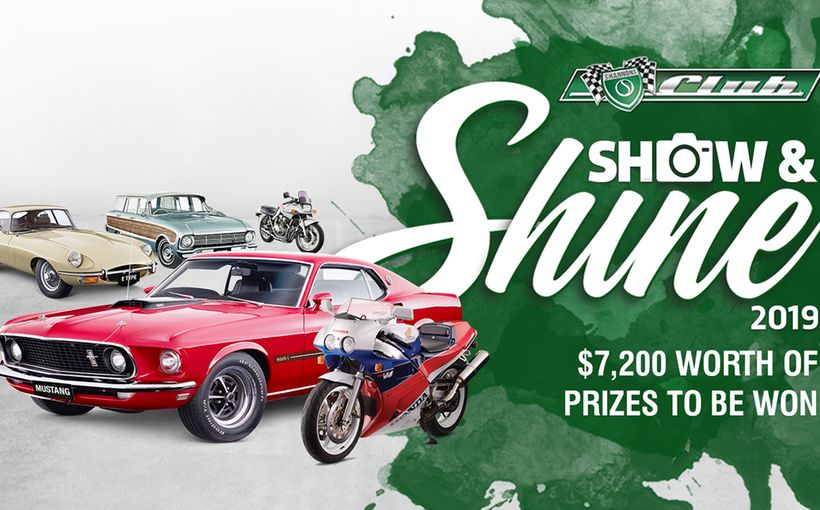 2019 Shannons Club Online Show and Shine Competition - $7,200 worth of prizes to be won!