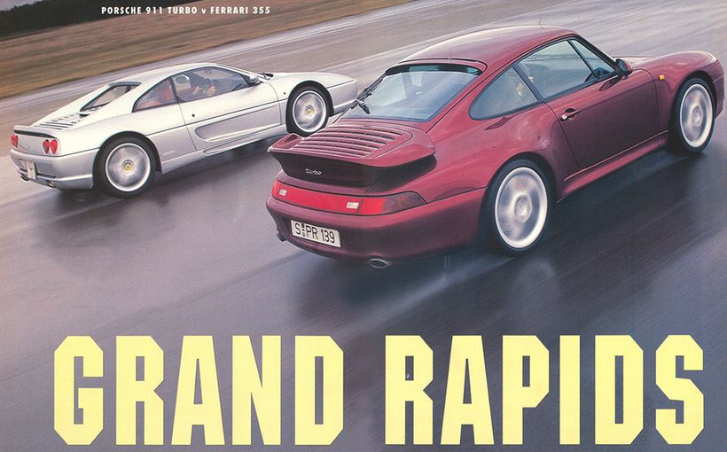 Porsche 911 Turbo v Ferrari 355: Grand Rapids