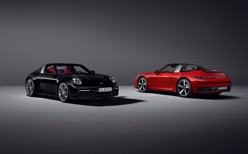 Porsche expands drop-top 911 appeal with addition of new-generation Targa