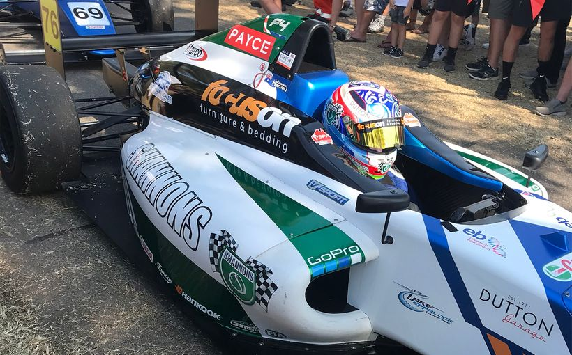 Emerson Harvey's Stunning Formula 4 Debut