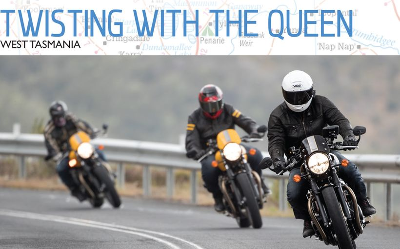 Twisting with the Queen: West Tasmania