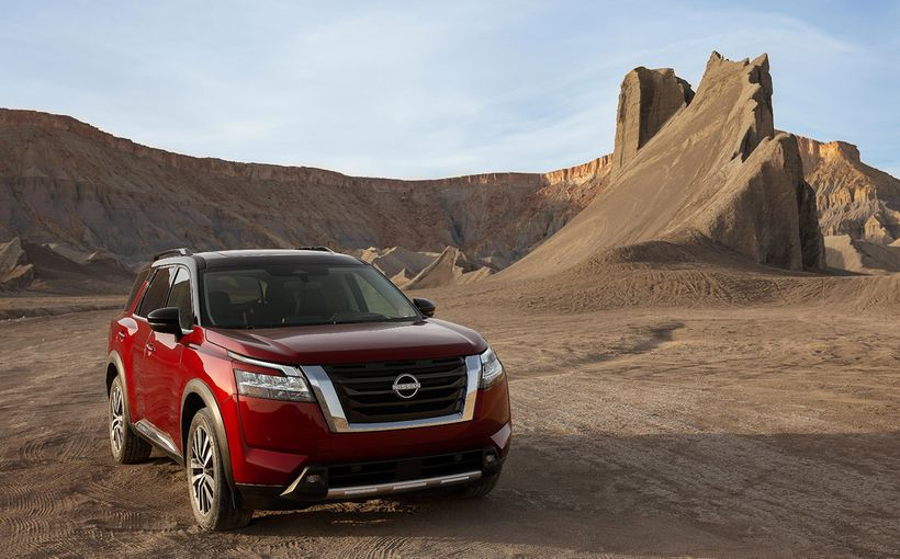 Nissan debuts its new Pathfinder and says it's returning to its rugged roots