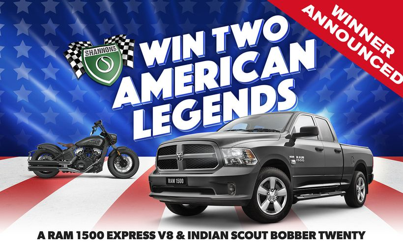 American Legends: RAM & Indian Competition Winner Announced