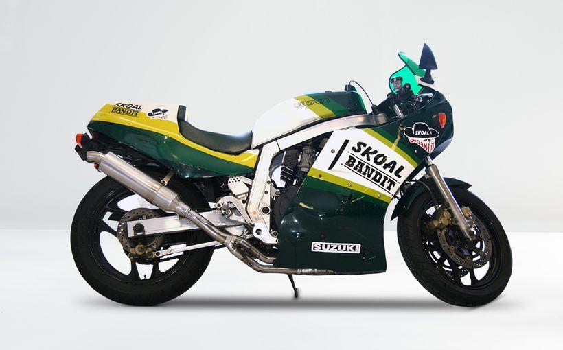 Suzuki GSXR1100: Skoal Bandit