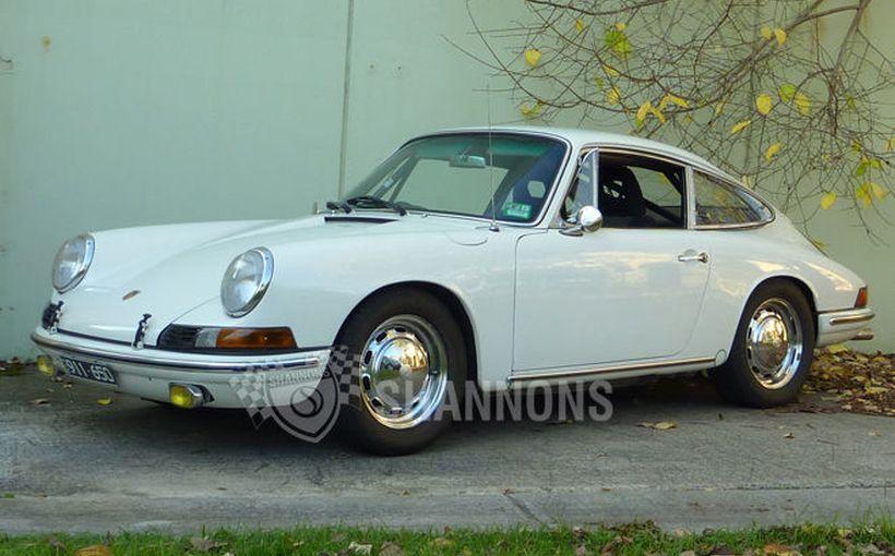 His & Her Porsches under the hammer
