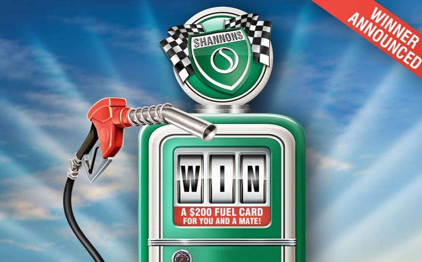 Win a $200 Fuel Card for you and a Mate!