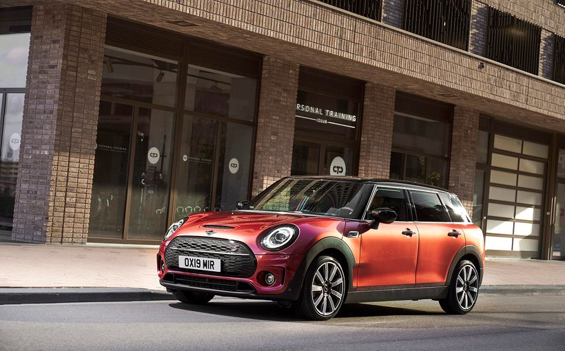 Mini rips the covers off the updated Clubman