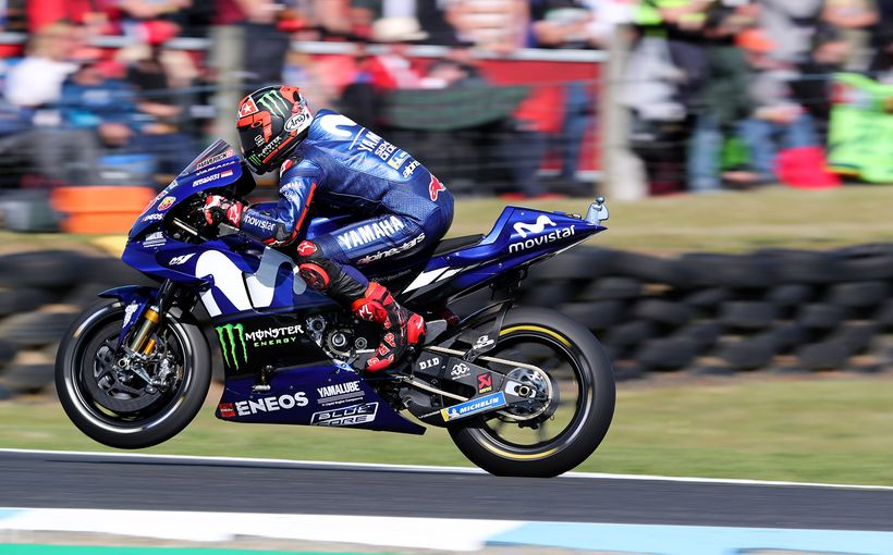 Maverick Vinales Ends Yamaha Drought as Two Andrea's Finish Second and Third